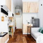 Façades de meubles en contreplaqué de pin