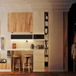 Éclairage confortable dans un petit studio