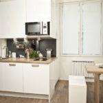 Organisation de l'espace cuisine à Odnushka