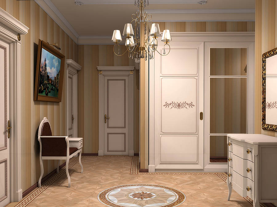 Conception de couloir classique
