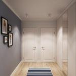 Deux portes au bout du couloir