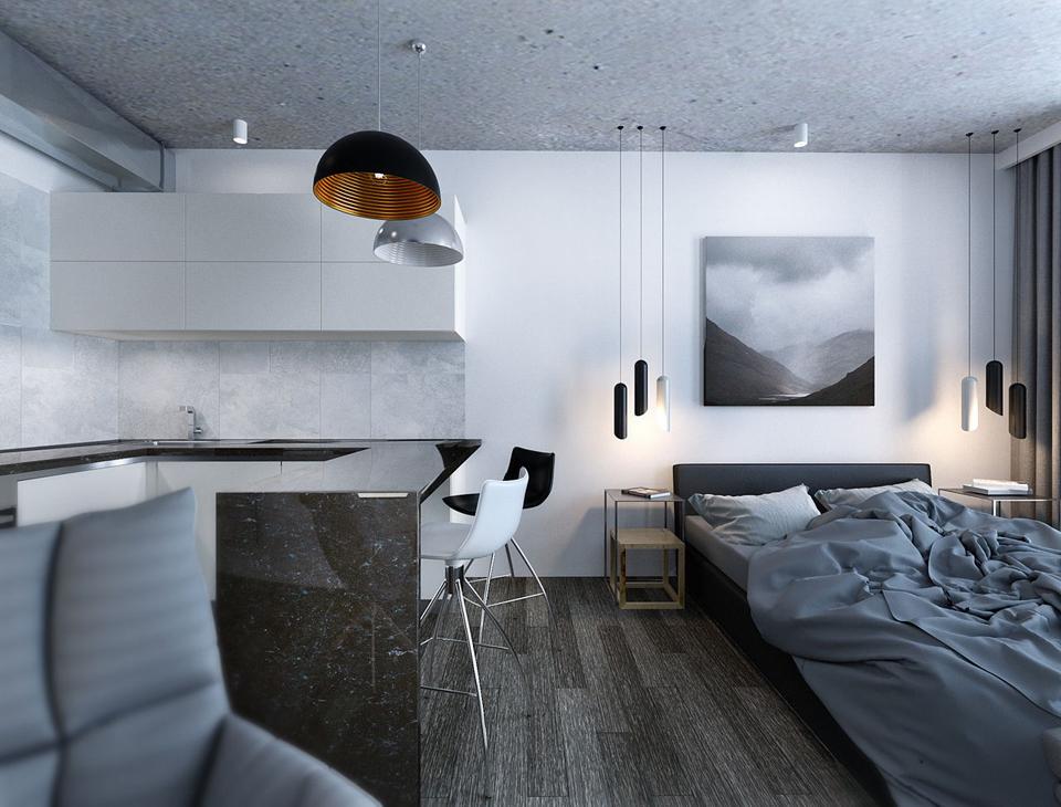Conception de salle de dortoir de haute technologie