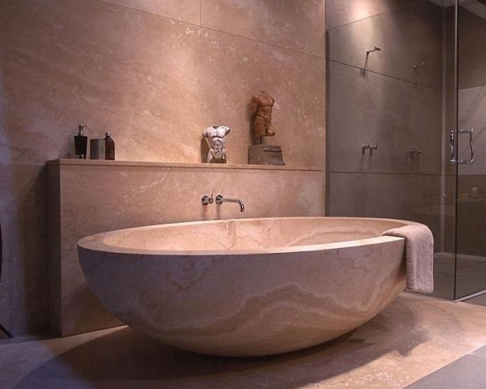 bain de pierre.