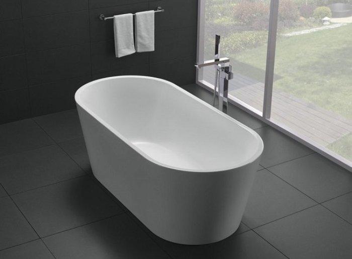 Minimalisme de bain.