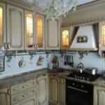 Armoires de cuisine avec éclairage intégré