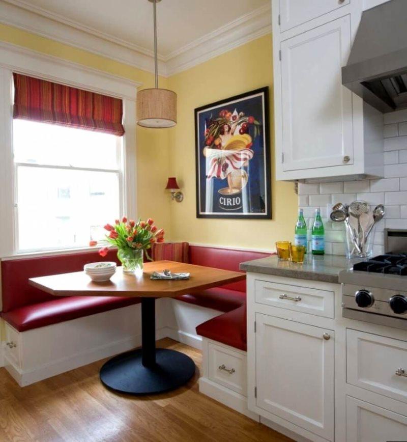 Góc mềm mại hình chữ U trong nhà bếp phong cách hiện đại