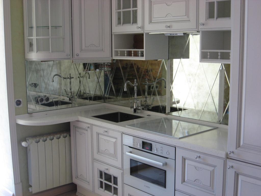 Șorț de bucătărie cu gresie pentru oglinzi