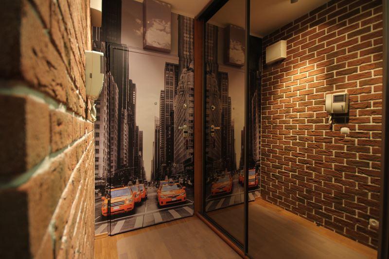 couloir dans le loft de Khrouchtchev