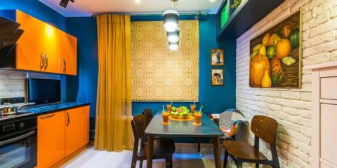 la couleur des murs de la cuisine