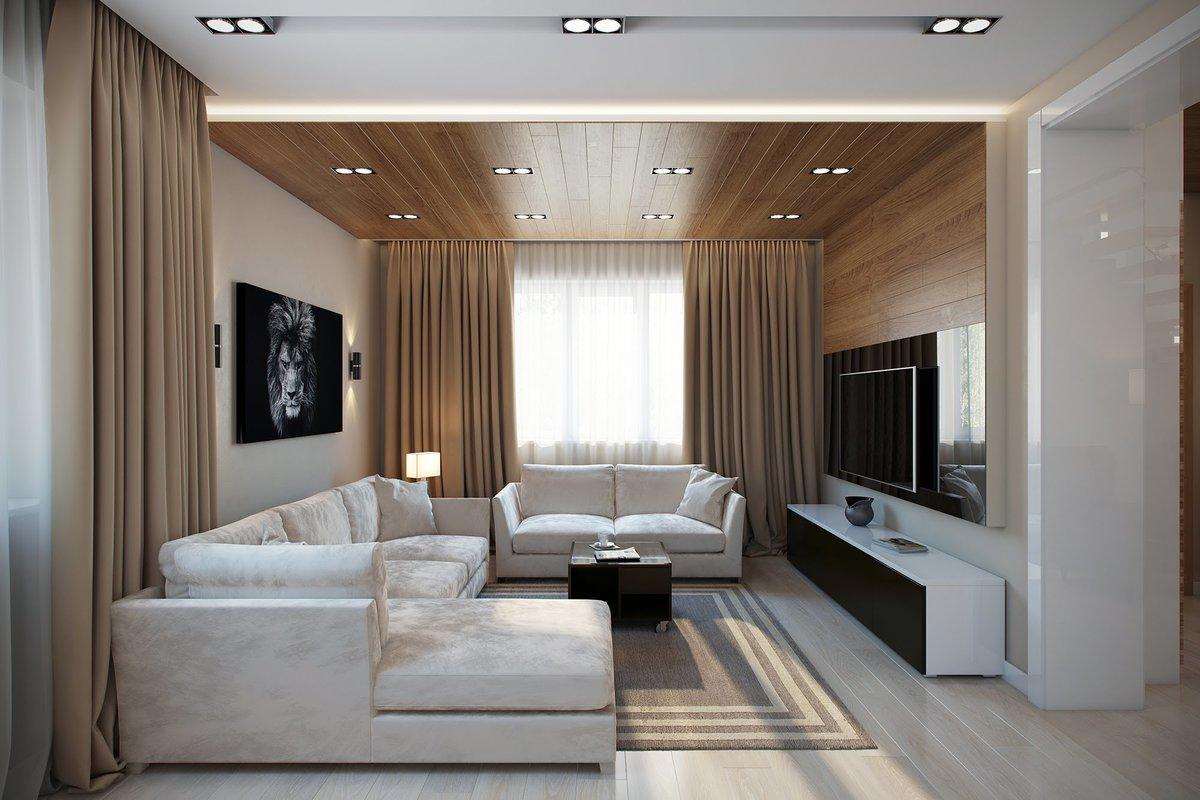 conception de rideaux pour chambre moderniste