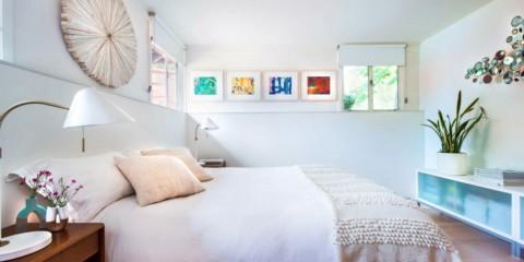 chambre design 12 m² avec décoration