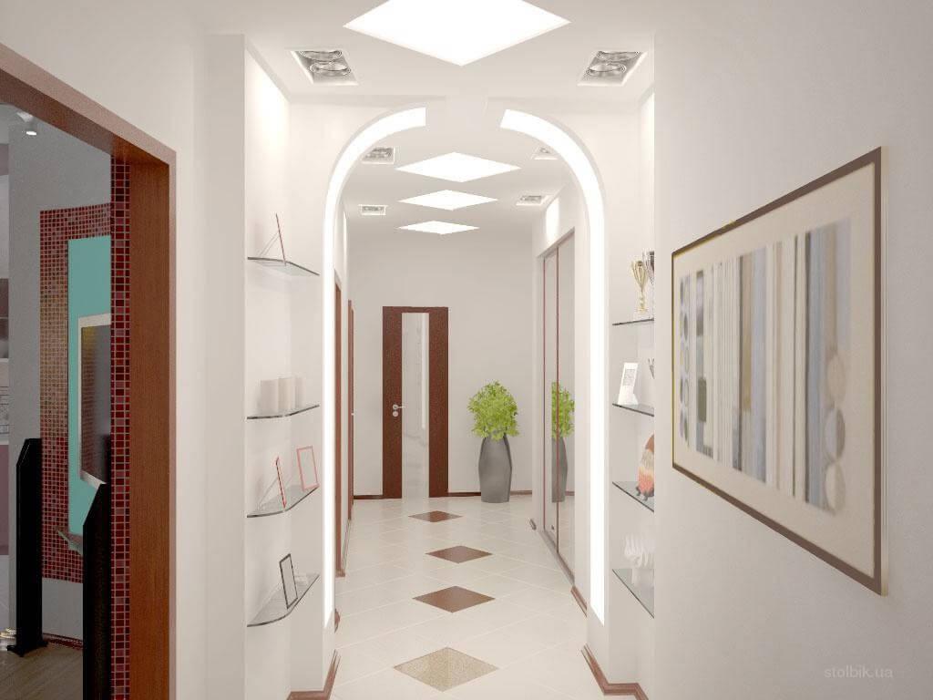couloir à Khrouchtchev avec une arche