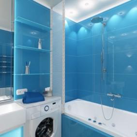 تصميم الحمام بأسلوب معاصر