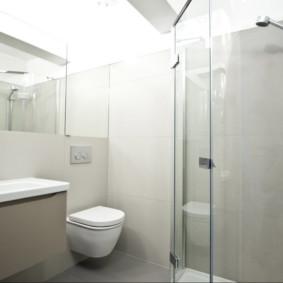 Nhà vệ sinh treo tường màu trắng