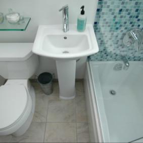 Chìm giữa bồn tắm và nhà vệ sinh