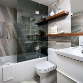 Kệ vệ sinh bằng gỗ