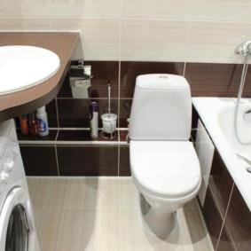 Mô hình nhà vệ sinh sàn nhỏ gọn