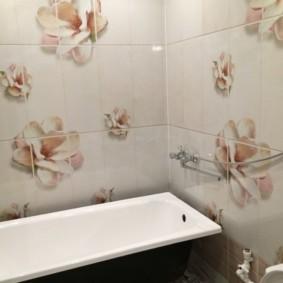 Bồn tắm kim loại thẳng
