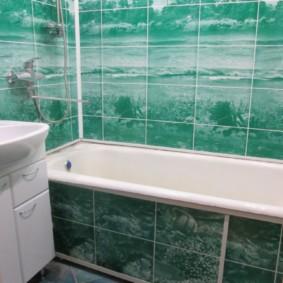 Tấm ốp tường bằng tấm nhựa