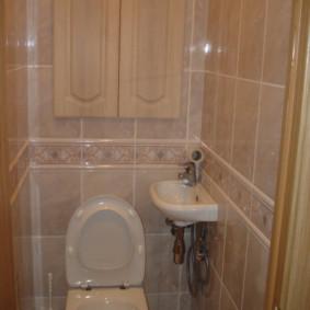 Lavabo compact avec douche hygiénique
