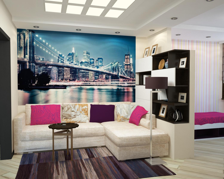 chambre salon 17 m² idées photo