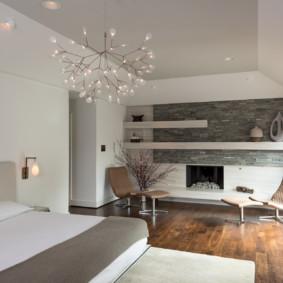 salon chambre 17 m² options photo