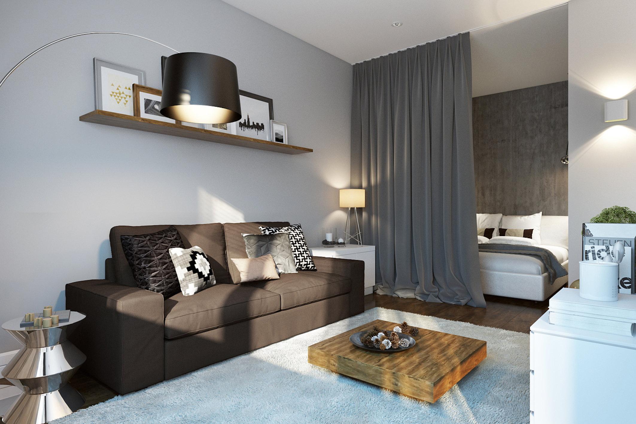 chambre salon 17 m² idées intérieur