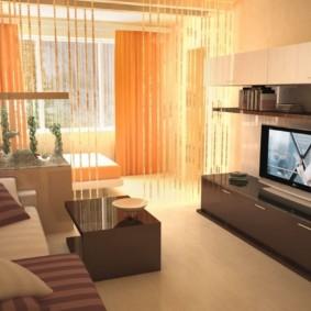 salon chambre 17 m² idées vues