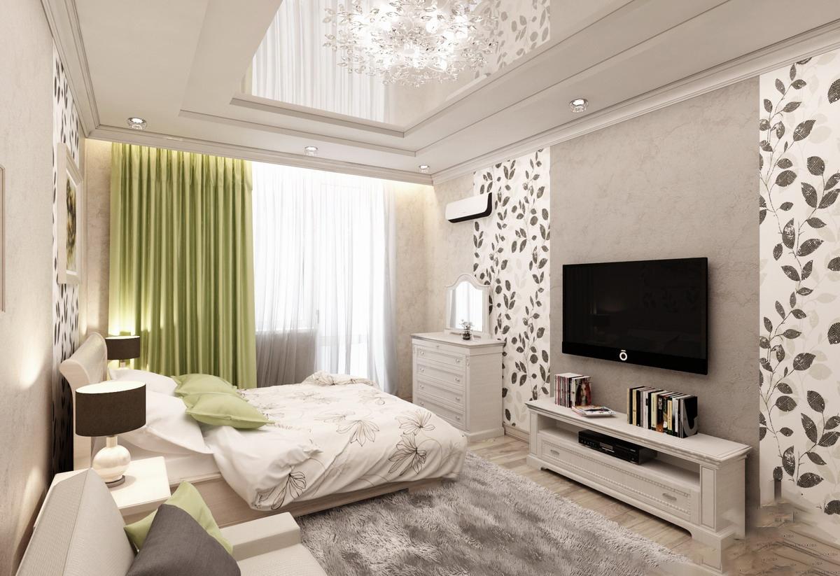 salon chambre à coucher 17 m² options