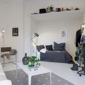 chambre salon 17 m² vue photo