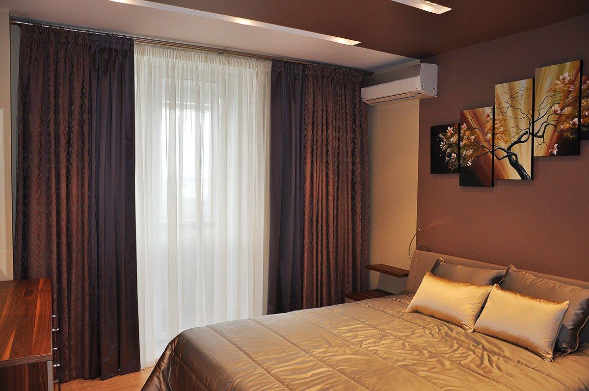 rideaux sombres pour la chambre