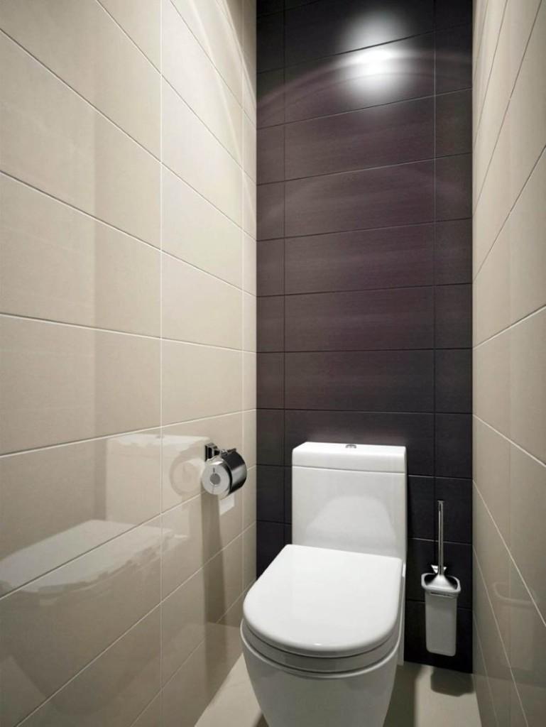 Toilettes de style minimaliste à Khrouchtchev