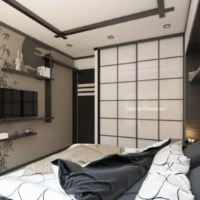petite chambre de style japonais