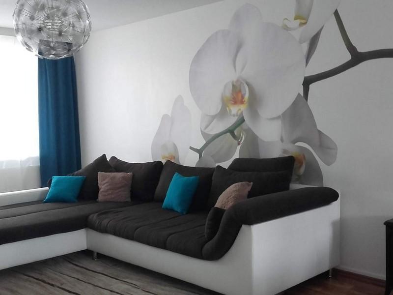 ý tưởng giấy dán tường phòng khách