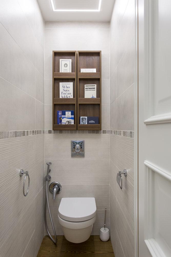 Un bon éclairage des toilettes à Khrouchtchev