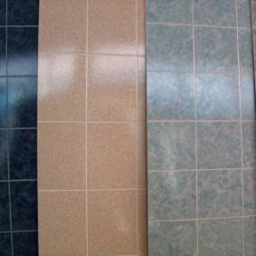 Tấm nhựa để hoàn thiện phòng tắm