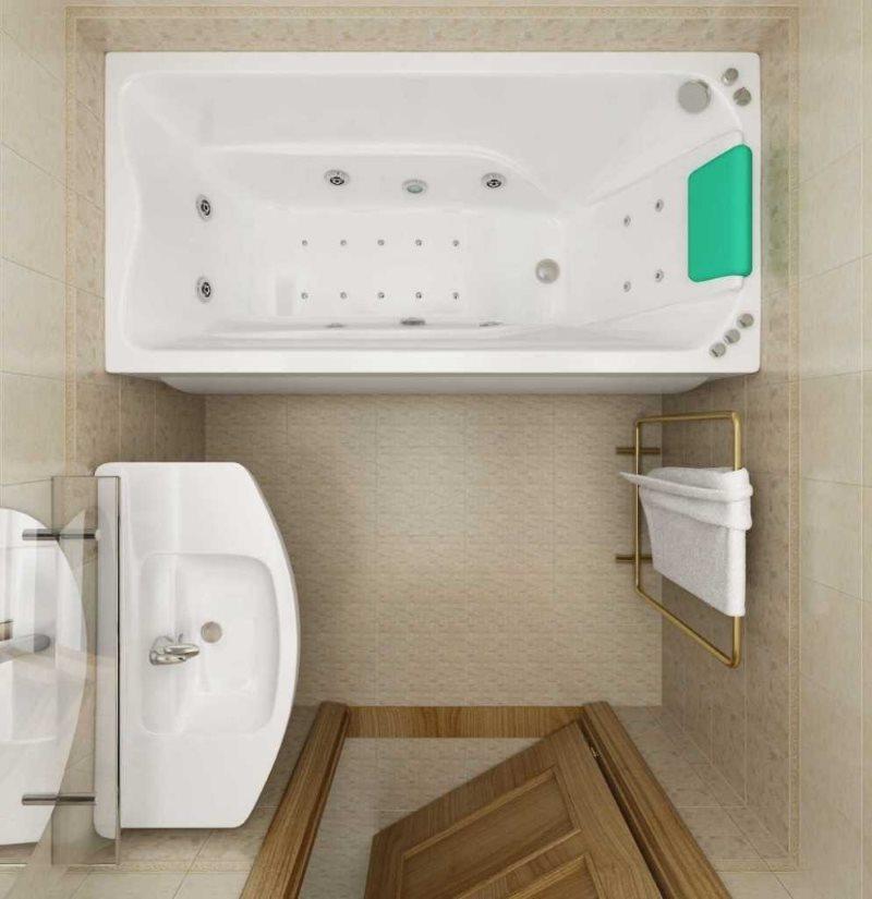 الحمام البيج تصميم البلاط