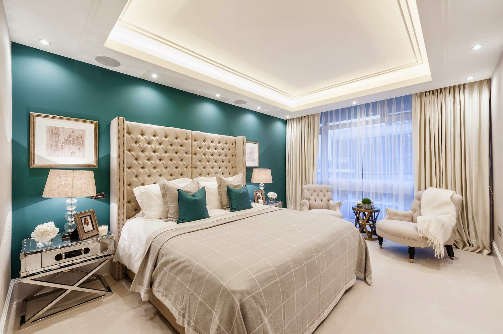 conception de rideau de chambre
