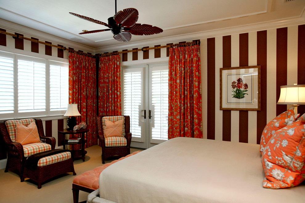 rideaux lumineux dans la chambre