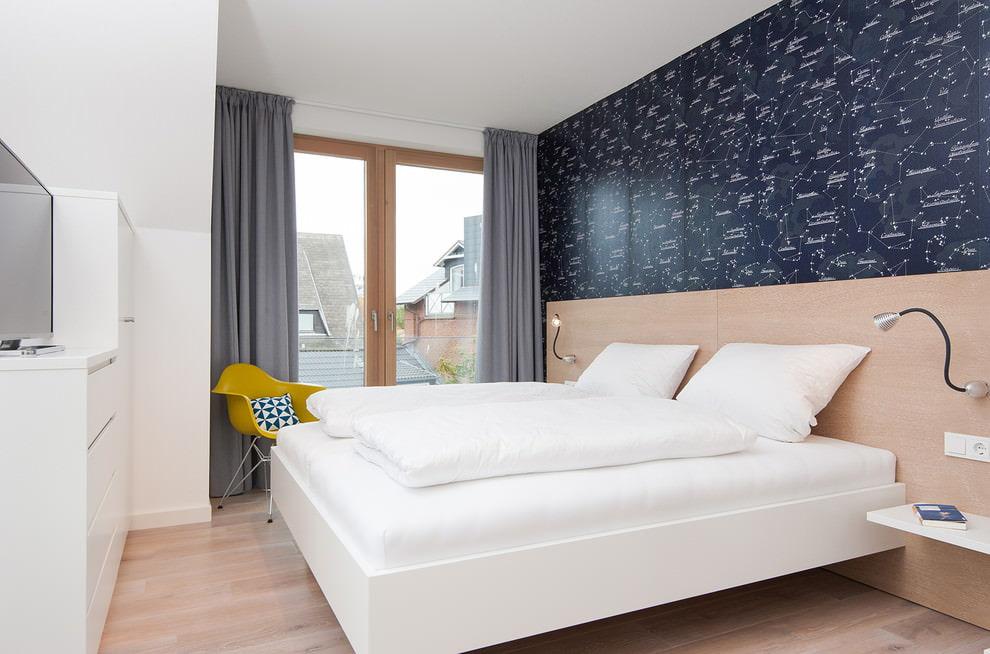 options de rideaux pour la chambre