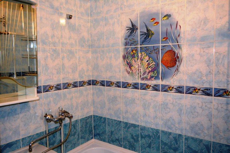Tấm lát nhựa PVC trong phòng tắm