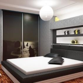 armoire pour un intérieur photo chambre