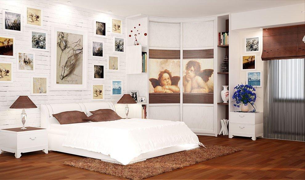 armoire pour une photo de chambre