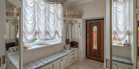 rideaux dans le couloir dans une maison privée des idées