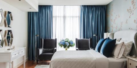 וילונות לחדר שינה 2019 אפשרויות
