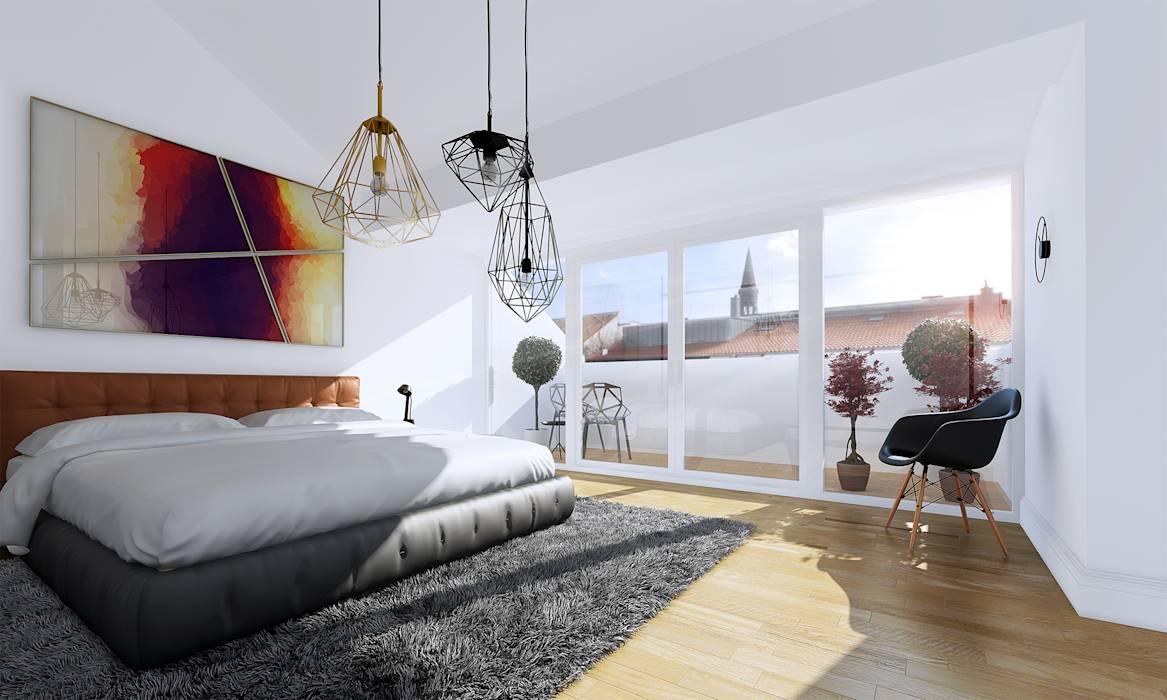 Idées de design de chambre Art Nouveau