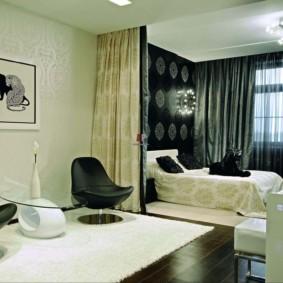 chambre salon 17 m² photo