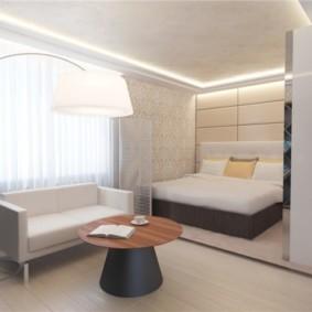 chambre salon 17 m² idées déco