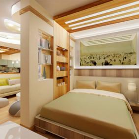 chambre salon 17 m² idées design