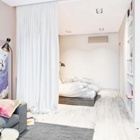 chambre-salon 18 m² idées déco